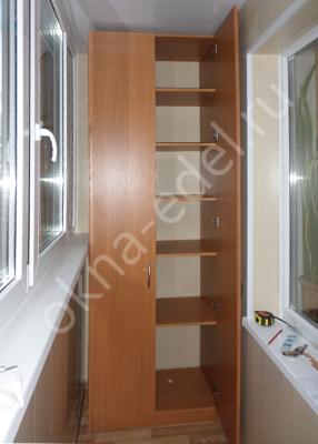 Акции на изготовление шкафов на балкон.